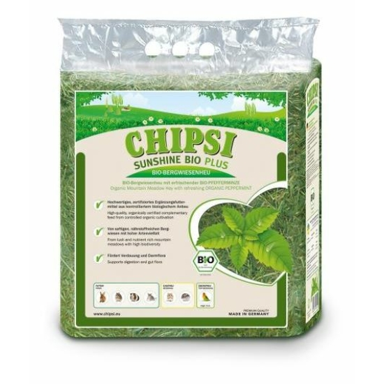 Chipsi Sunshine Bio Széna Borsmentával 600 g