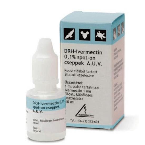 DRH-Ivermectin 0,1% 10 ml