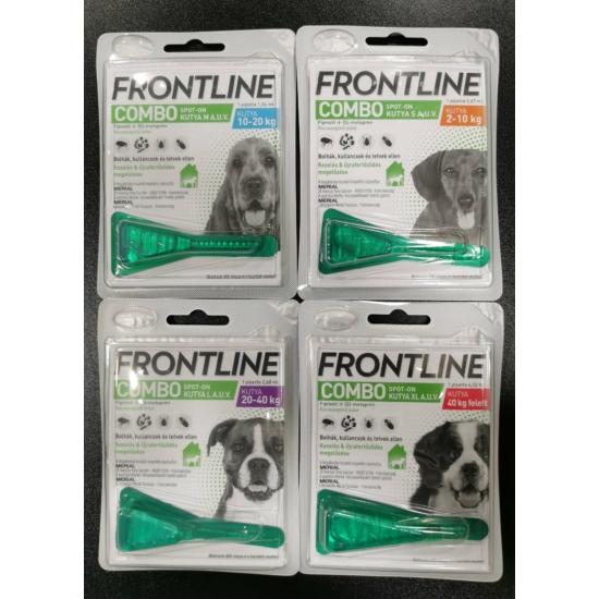 Frontline Combo kutya