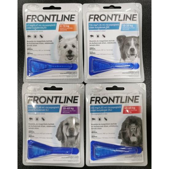 Frontline rácsepegtető oldat kutyáknak
