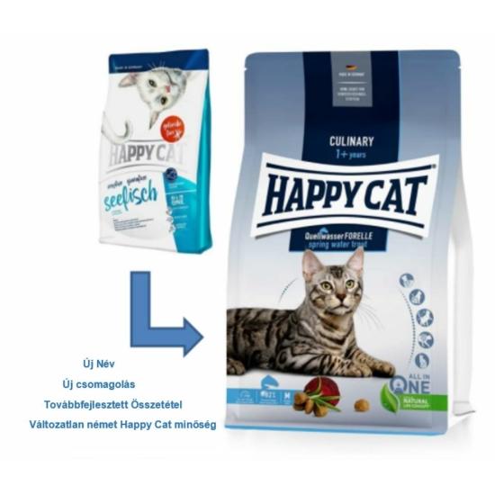 Happy Cat - Culinary Adult Pisztrángos macskaeledel