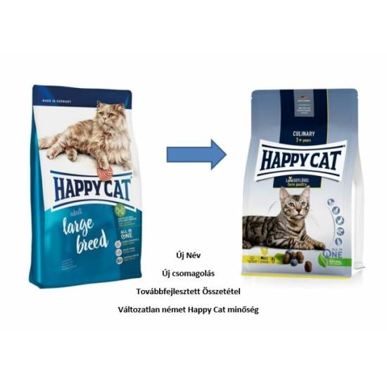 Happy Cat - Fit & Well Nagytestű Adult