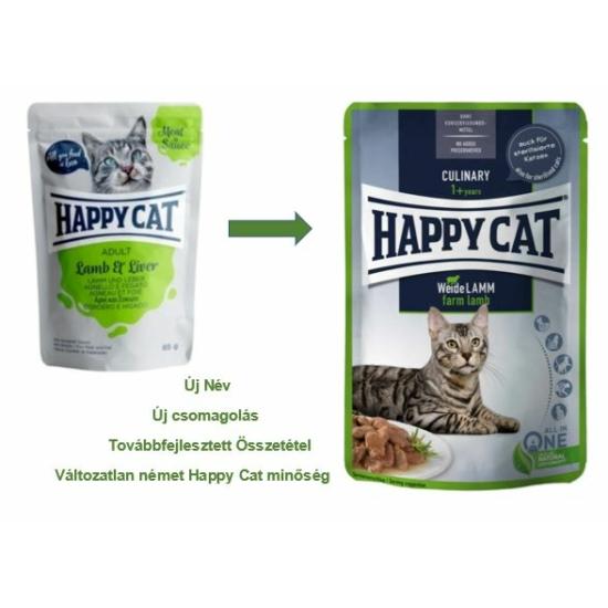 Happy Cat - Pouch Szósz Bárány-Máj macskáknak