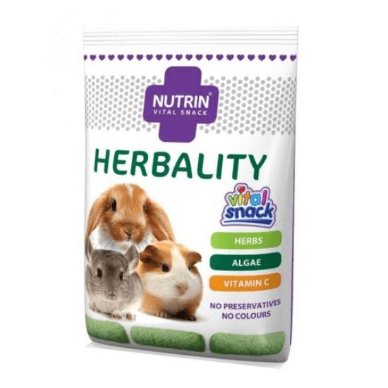 Nutrin Vital Snack Herbality Nyúl-Tengerimalac-Csincsilla 100 g