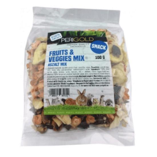 PeriGold Aszalt Snack Gyümölcs-Zöldség Mix 100 g