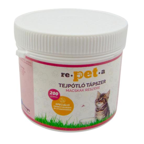 rePETa Tejpótló tápszer cicáknak 200 g
