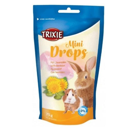 Trixie Mini Drops Pitypangos Jutalomfalat Rágcsálóknak 75 g