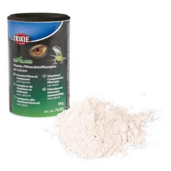 Trixie Reptiland Vitamin és Ásványianyagok Kálciummal 50 g