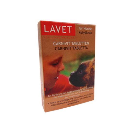 Lavet Carnivit tabletta kutya 50 db