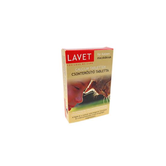 Lavet Calcium csonterősítő tabletta macska 50 db