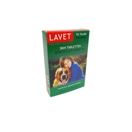 Lavet Bőrtápláló tabletta kutya 50 db