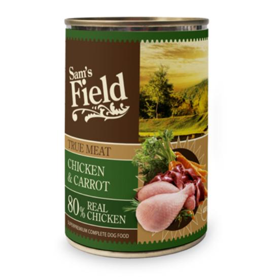 Sam's Field Konzerv Csirke-Répa 400g
