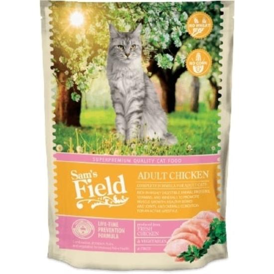 Sam's Field Felnőtt cicának Csirke száraztáp