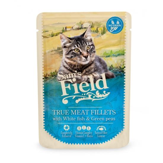 Sam's Field - Pouch Hús Fehér Hal-Zöldborsó