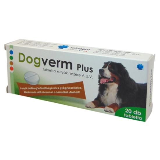 Dogverm Plus tabletta