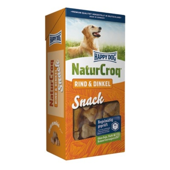 Happy Dog - NaturCroq Marhahúsos Snack 350 g