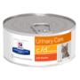 Kép 1/3 - Hill's Prescription Diet - C/D Urinary Multicare csirkés vagdalt konzerv cicáknak 156 g
